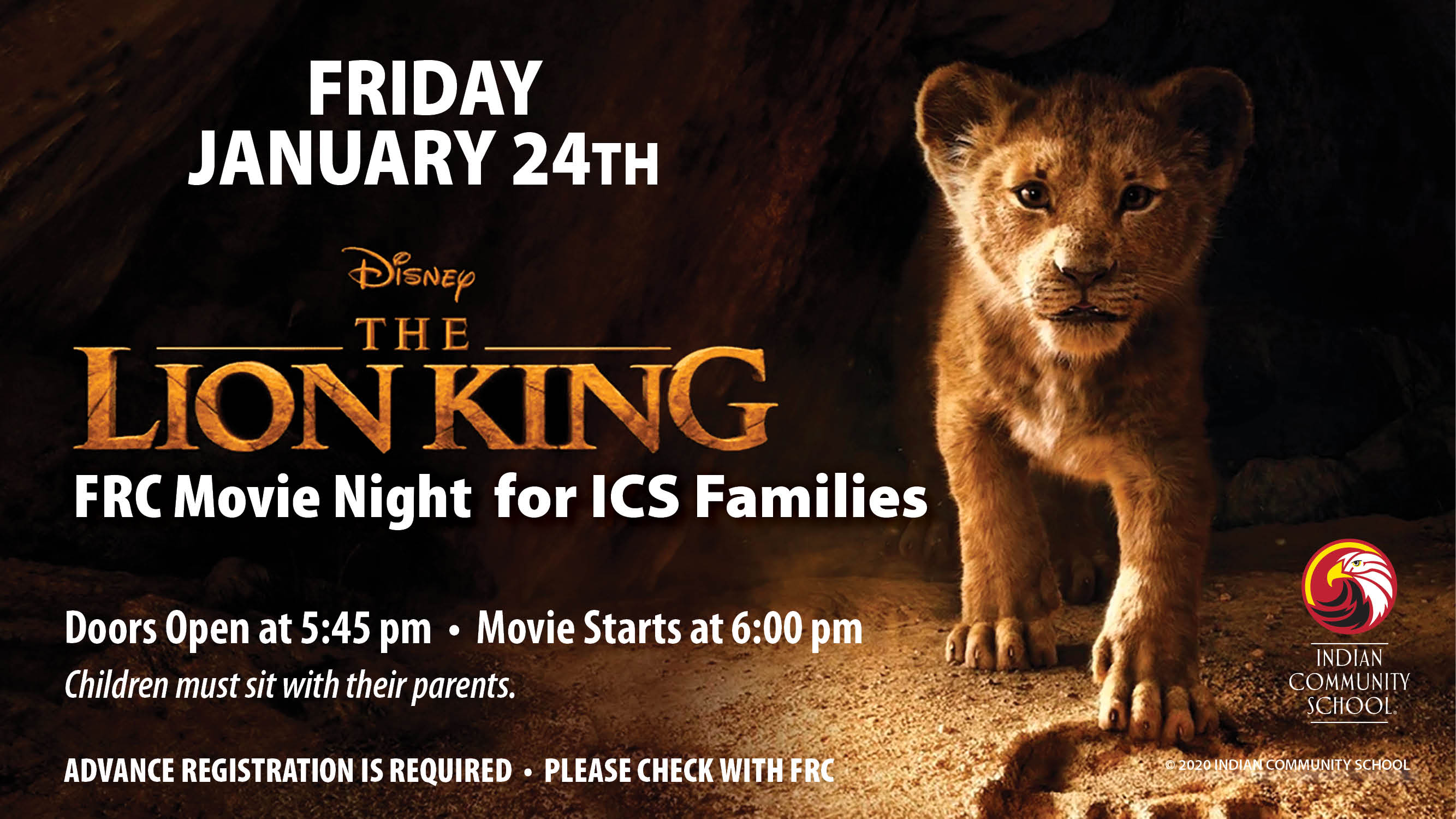 Movie Night Disney S The Lion King Indian Community School