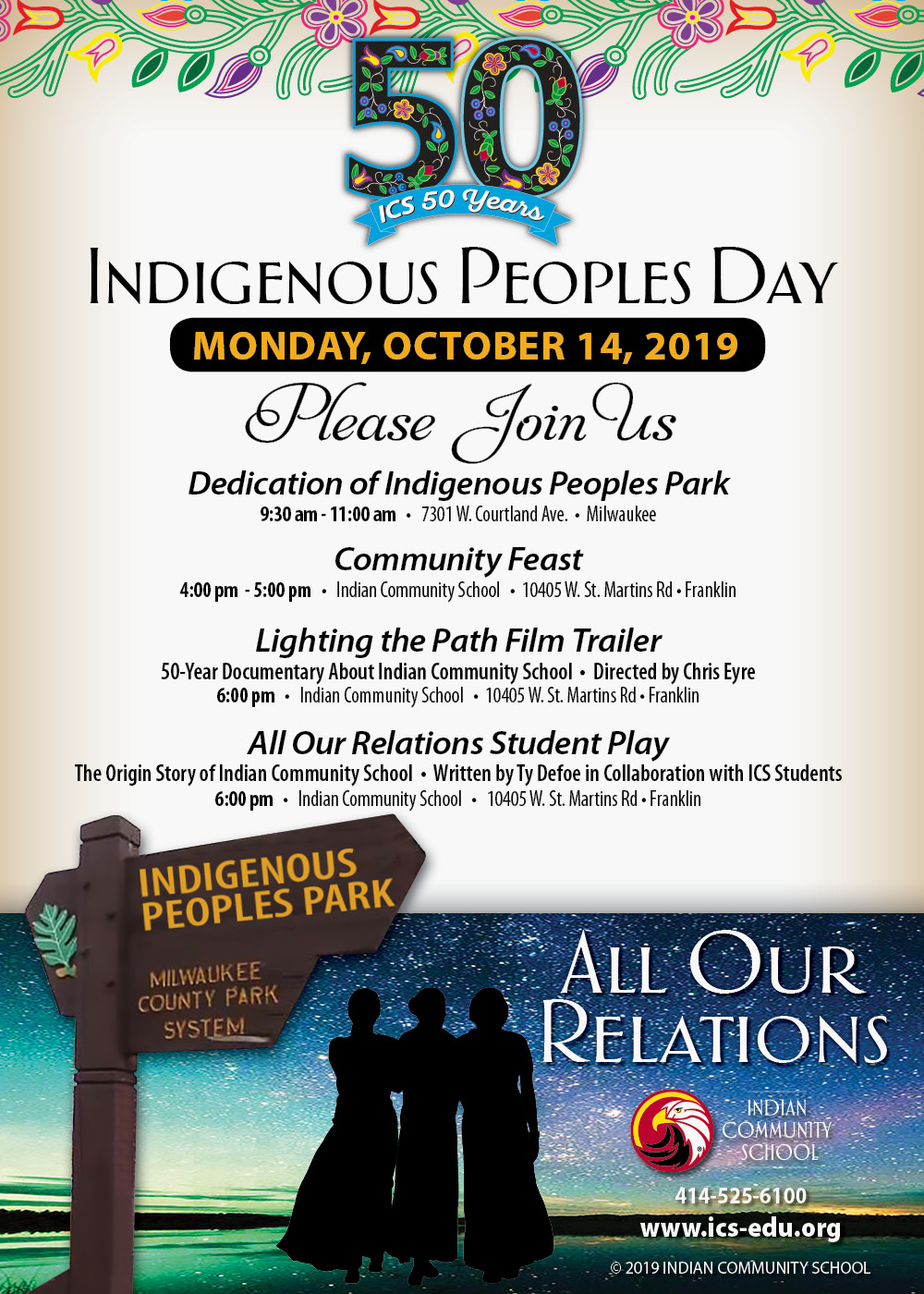 Indigenous Peoples Day Invitation